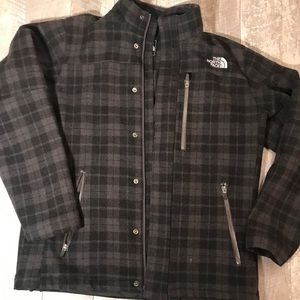 North Face Will Blend Plaid Jacket mens size Med